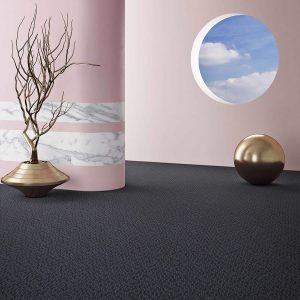 Ambiente com Carpete em Rolo Sinfonia