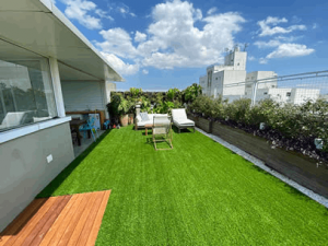 Ambiente da Grama Sintetica Soft Grass